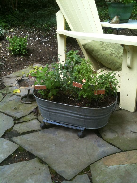 Herbside planter